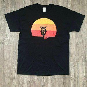 NEW Support Good Times Sundown Moto Black T-Shirt